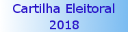 banner Cartilha Eleitoral 2018