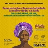 Encontro em Salvador marcar� Dia da Mulher Negra Latino Americana e Caribenha